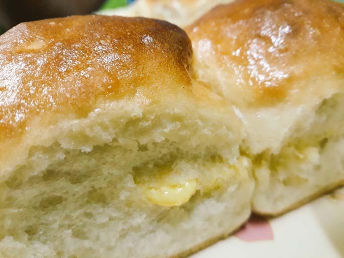 Fresh buns from Tea Totoka cafe from Yatu Lau Arcade in Suva.