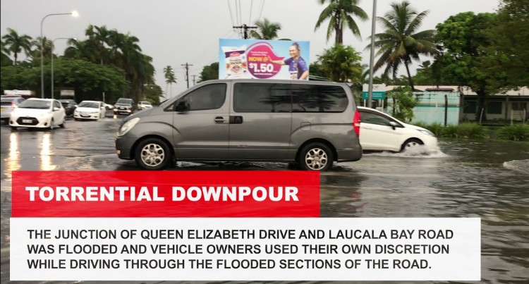 Torrential Downpour Affects Suva