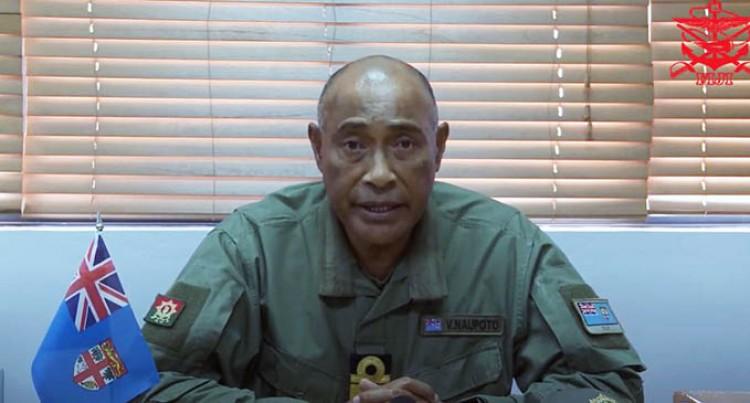 RFMF Commander Acknowledge COVID-19 Protocol Breaches In Video Address