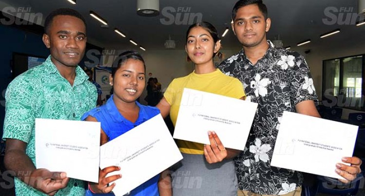 FNUSA Scholarship A Big Boost For Recipients Vashnita, Timoci