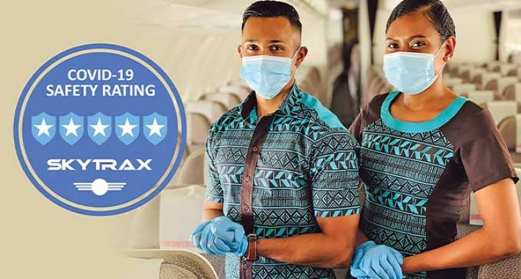 Highest Five-Star COVID-19 Airline Safety Rating Given To Fiji Airways