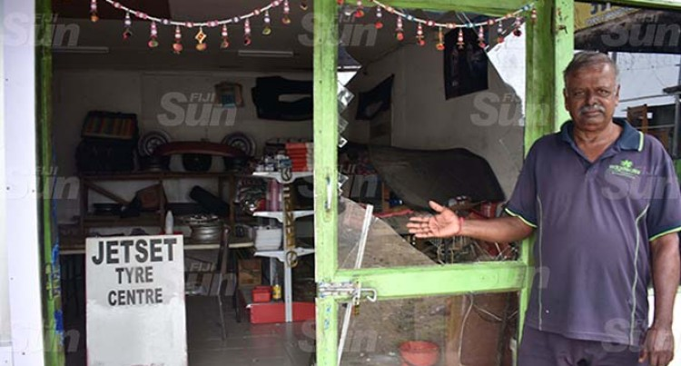 Tyre Shop Owner Claims Fourth Break-In