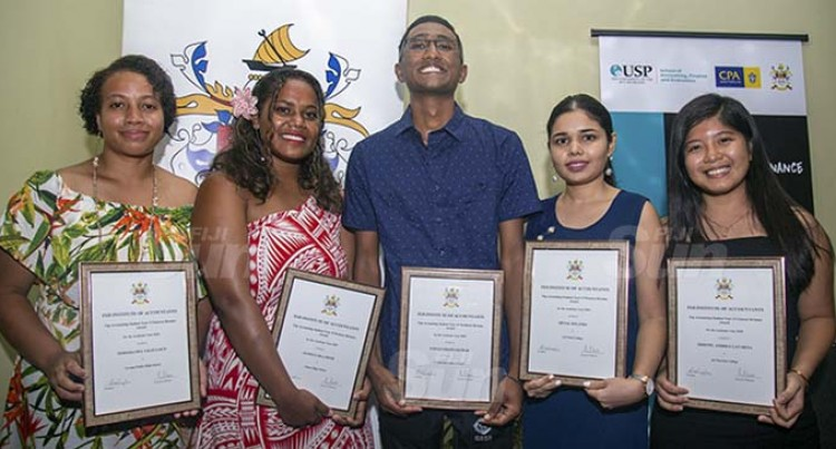 Top Accounting Students Recognised