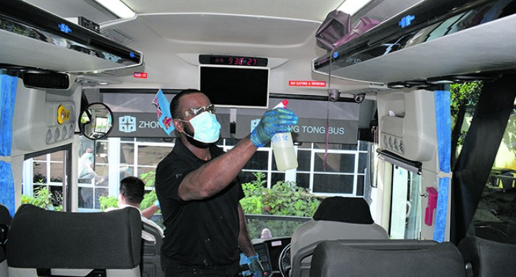 What To Do Before You Enter A Pacific Transport Bus
