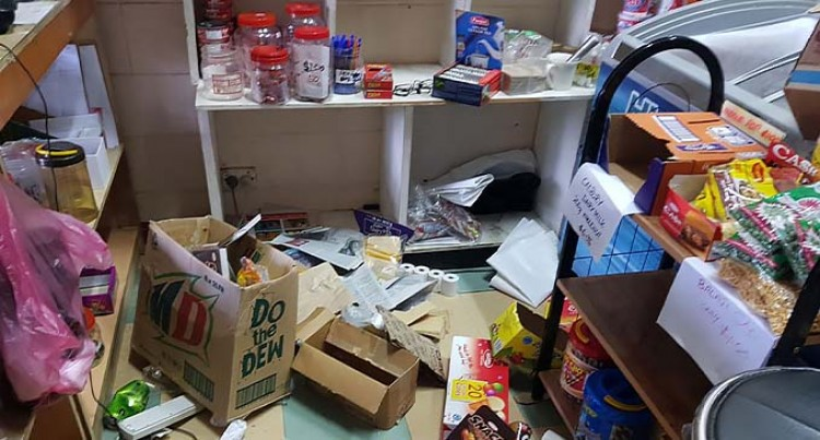 3 Alleged Robberies Hurt Shop Owner
