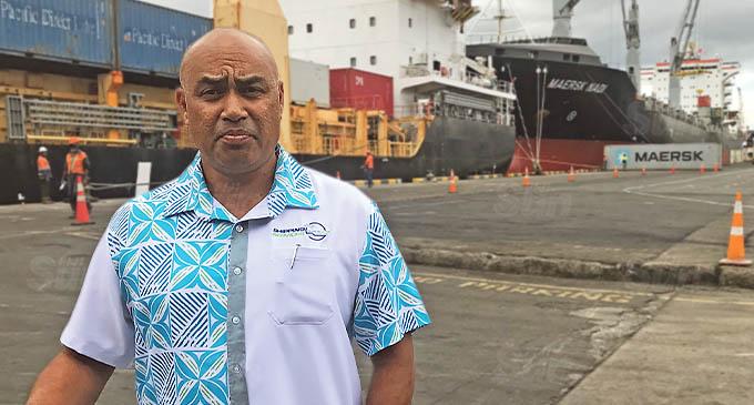 Shipping Services (Fiji) managing director, Bernard Hong Tiy. Photo: Frederica Elbourne