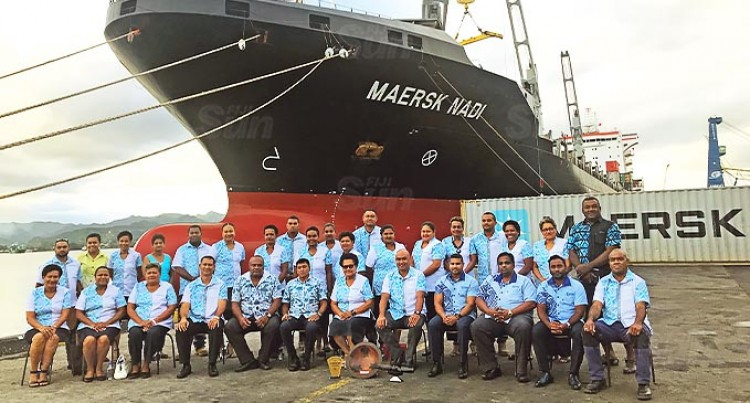 Maersk Nadi Arrives With The Blessings Of Tui Nadi