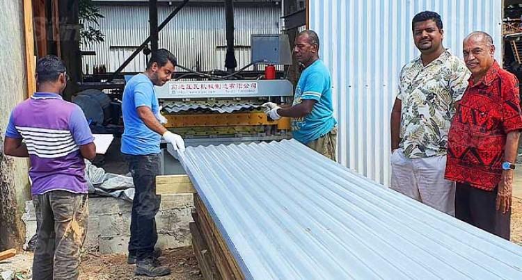 Sharma Opens Tin Factory In Savusavu