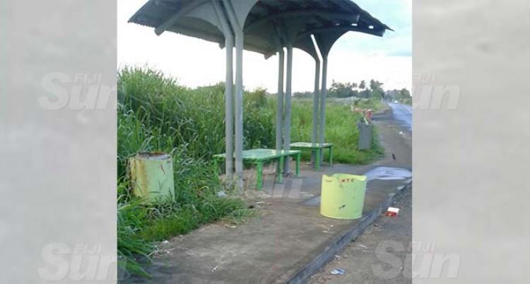 Nausori Bus Stops' Woes