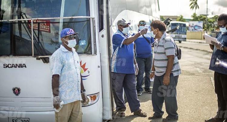 COVID-19: Minimal Bus Services For Viti Levu Tomorrow