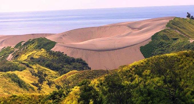 The Sigatoka Sand Dune.