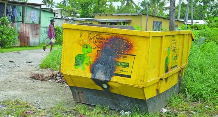 Dumpster Fires Deliberately Lit