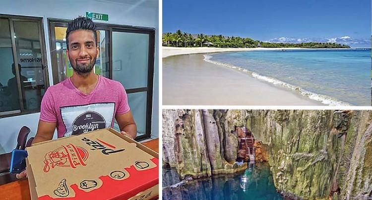 Let's Go Local: Natadola Beach Secret Backyard Spot for Fit Chef Zunaid Khan