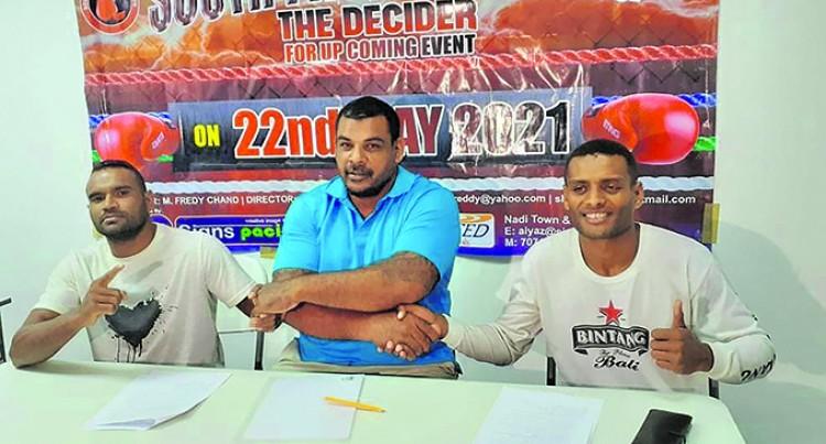 Naidu, Ravudi Fight For IBO Title