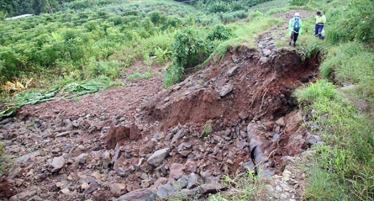Disruptions Due To Reservoir Landslide