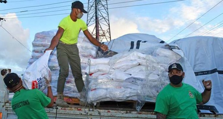 Food Ration Distribution Provided To Families In Need