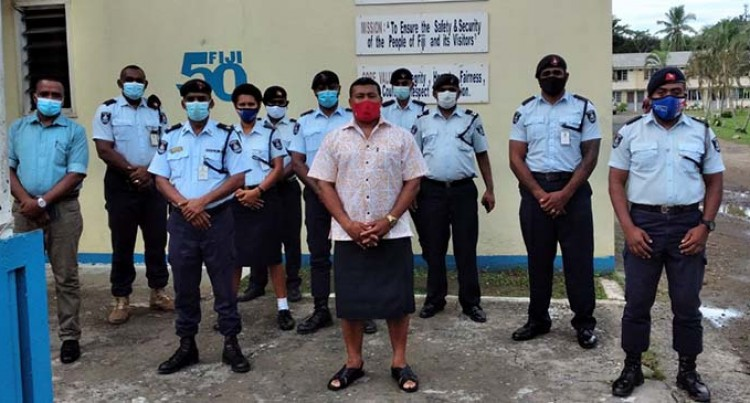 Serevi Joins Police In fight Against COVID-19
