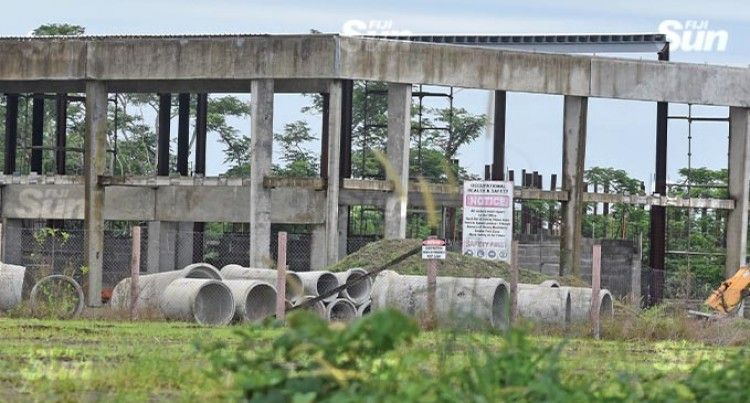 Construction On Hold At Damodar City Labasa