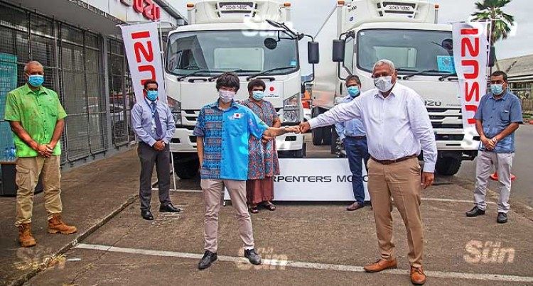 Embassy Of Japan, Carpenters Support Ministry Of Health