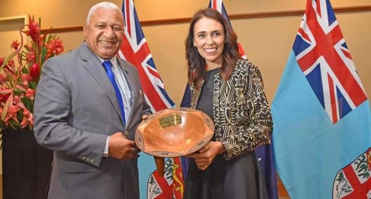 PM Thanks New Zealand Counterpart For Standing In Solidarity With Fiji