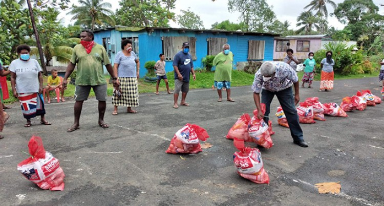 Friends Band Together To Deliver Food Packs In Suva