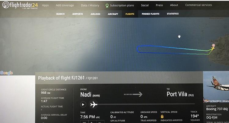 Mechanical Problem Force Fiji Airways Freight Flight To Return
