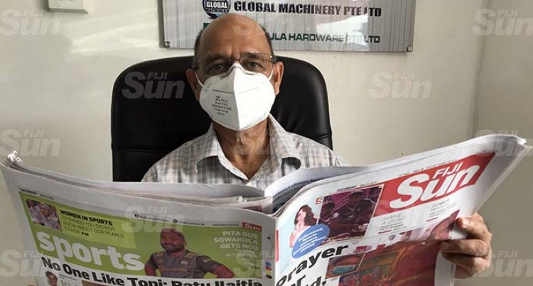 Fiji Sun The Only Paper In North