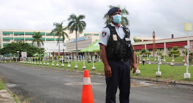 Lautoka Hospital Locked Down