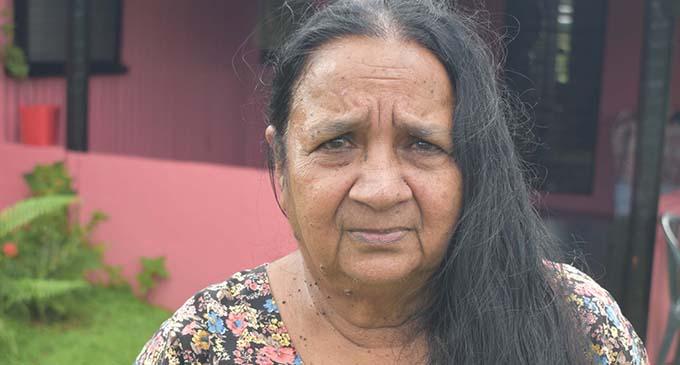 Shri Mati, who gave a piece of her land to the Koroi family at Mate road in Korovuto, Nadi. Photo: Mereleki Nai