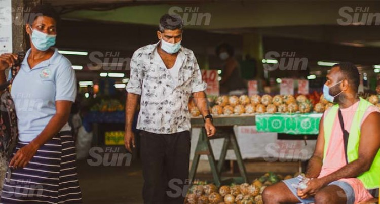 Market Vendors Need To Wear Face Masks Properly, Not As Mouth Guards- Kumar