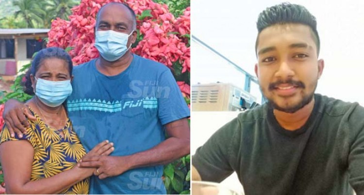 Labasa Couple's Pride In Frontliner Son
