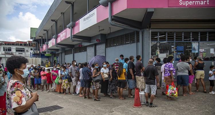Suva-Nausori Residents Rush To Supermarkets After Lockdown Lifts
