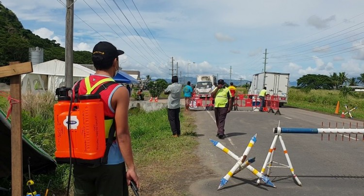 Lautoka City Lockdown Zone Checkpoints
