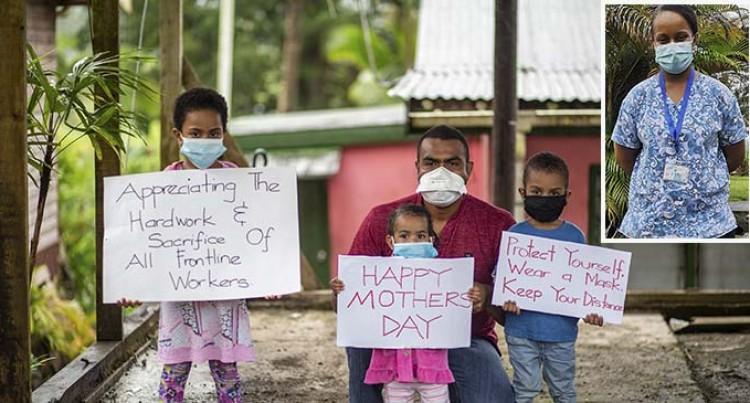 Children Long For Frontliner Mum