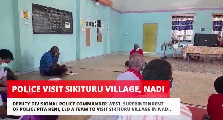 Police Visit Sikituru Village, Nadi.