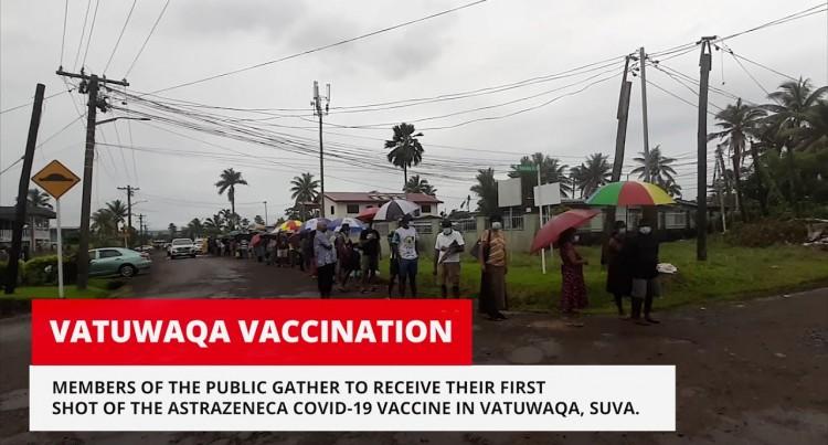 Vatuwaqa Covid-19 Vaccinations
