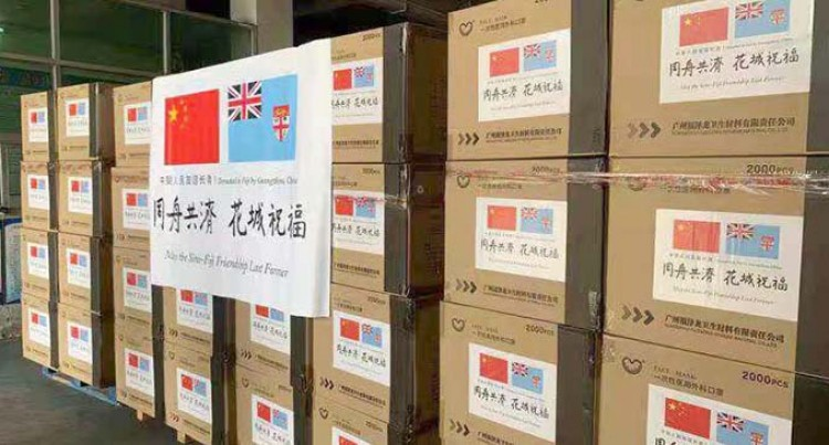 People's Republic Of China Provides PPE's Worth Over $500,000 To Fiji