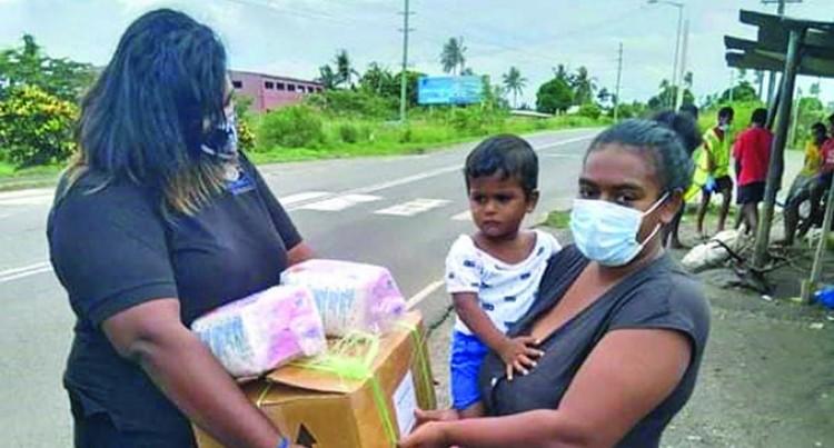 Krishna's Helping Hands Help Families