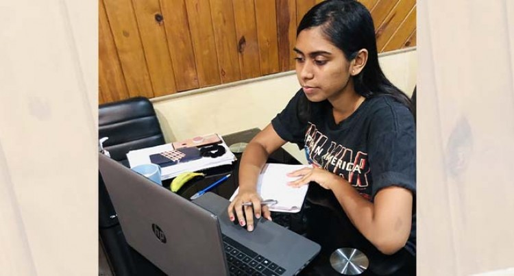 Kumar Adapts To Online Learning Mode