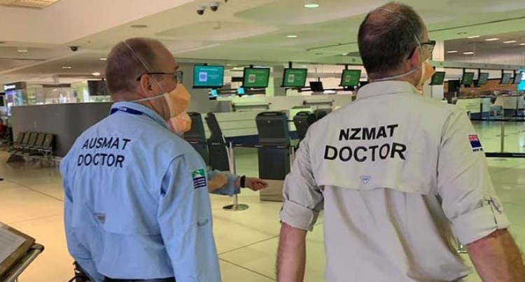 8 Personnel From Australian And New Zealand Medical Assistance Team Arrive In Nadi
