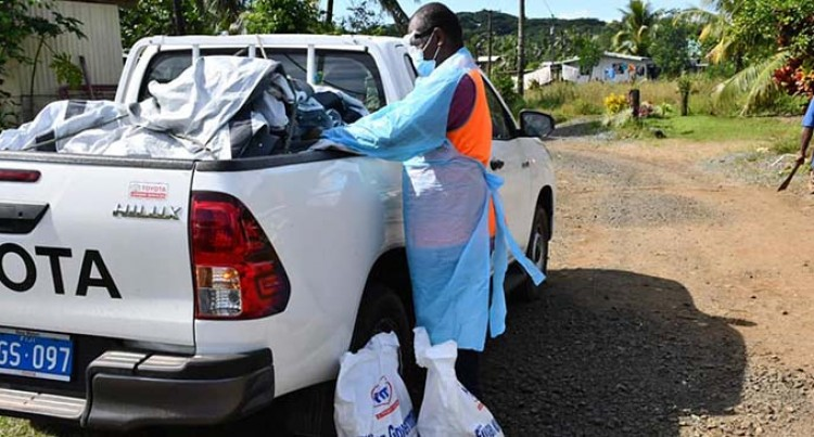 Ration Packs Provided To Tailevu Families, Settlements In Isolation