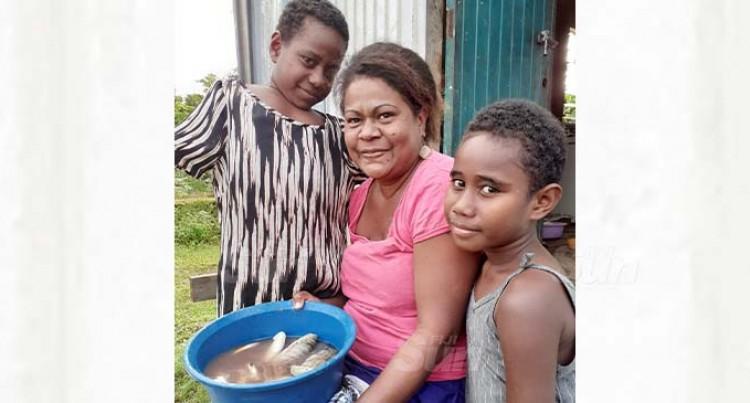 Nine Wainividio Settlement Families Survive By Sharing