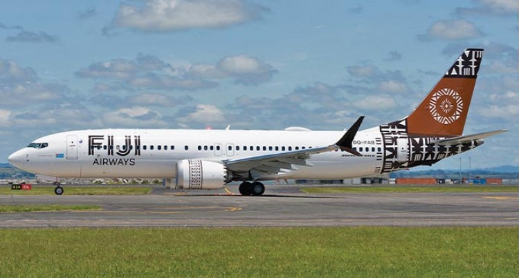 Clarification On Fiji Airways Boeing 737 MAX Aircraft