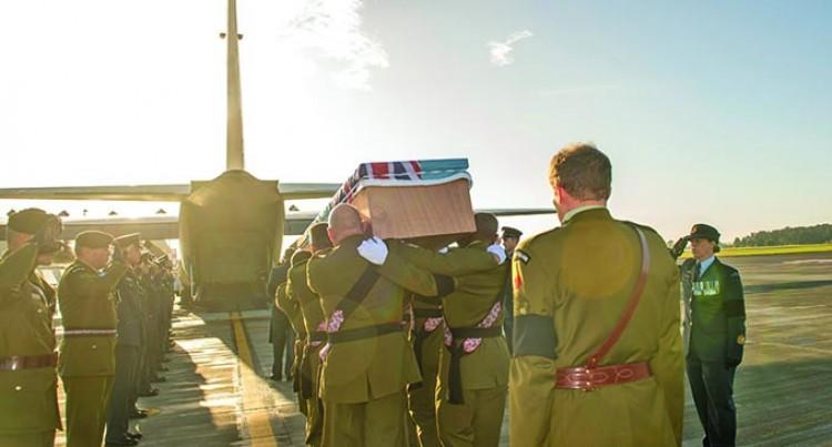 Fallen Peacekeeper Returns Home