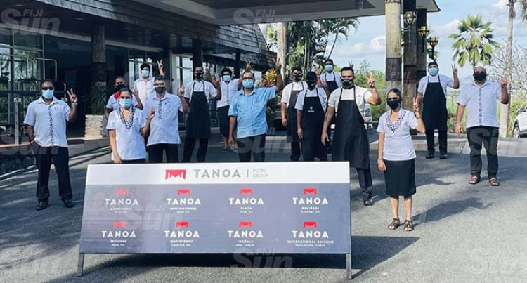 Tanoa Hotel Group Staff 100% Vaccinated