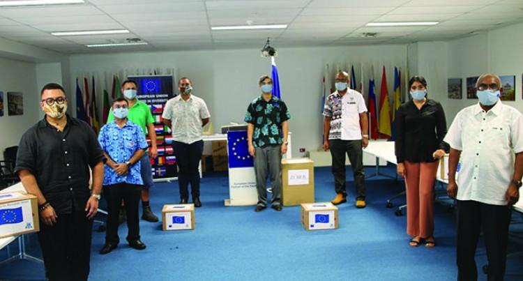 EU Provides Reusable Masks, Hand Sanitisers For Communities