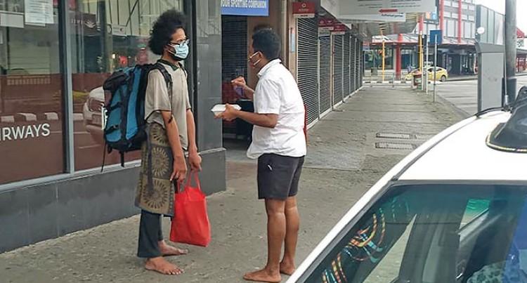 Former Hotel Worker Supplies Suva Street Dwellers Hot Meals