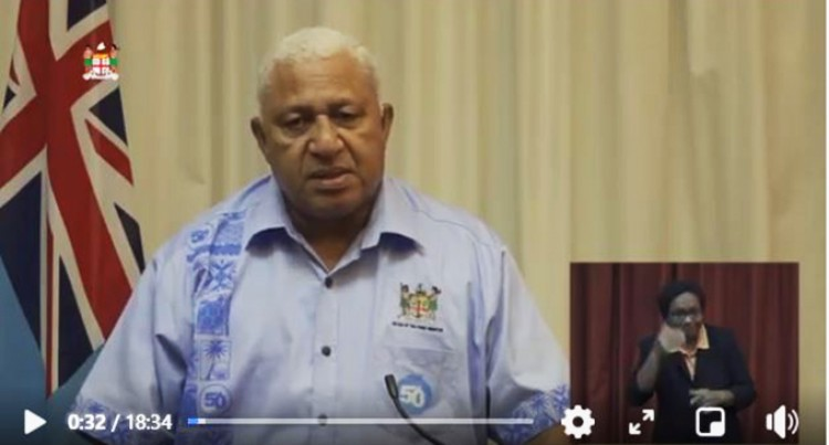 Total Lockdown Of Viti Levu Ruled Out: PM Bainimarama