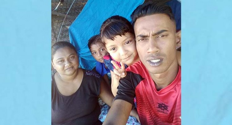 Pandemic Forces Family To Move To Makeshift Tent