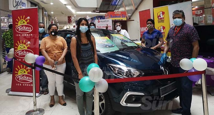 Frequent Shopper Wins $50,000 New Car